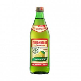 Любимый аромат 0,5л. стекло вкус Лимонад (20 шт.) БЕЗ КОНСЕРВАНТОВ