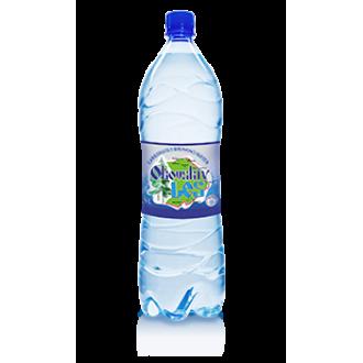 Вода питьевая газированная 1.5л.