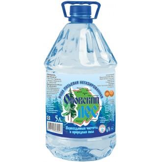 Вода питьевая не газированная 5л.